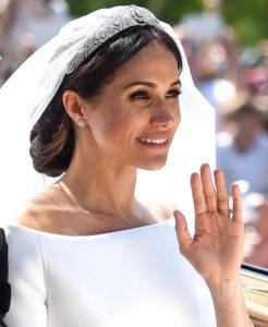 Meghan Markle's royal wedding black currant Renew hair colour