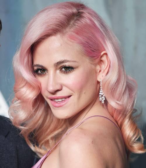 Pixie Lott Pink Candy Floss hair