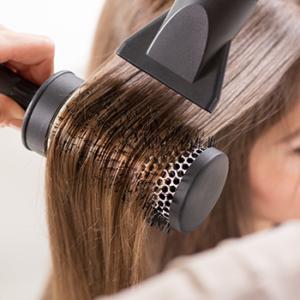 hair colour maintenance when heat styling