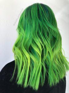 Semi-permanent green