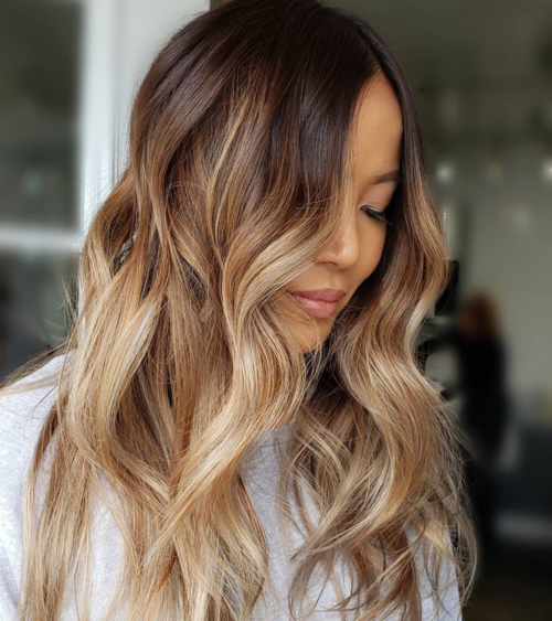 Classic ombre hair