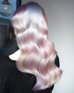 Unicorn hair colour trend