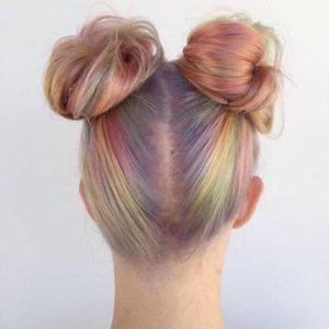 bubblegum unicorn hair