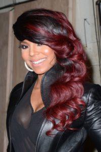 dual-tone red hair